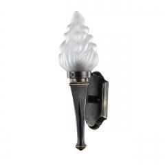 Уличный настенный светильник Favourite Fackel 1803-1W