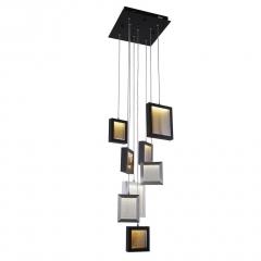 Подвесная светодиодная люстра Crystal Lux Valiente SP8