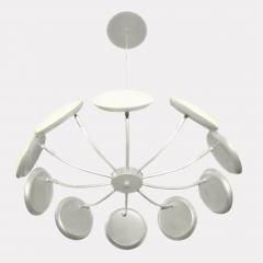 Подвесная светодиодная люстра Crystal Lux Maxime SP10 D600 Silver