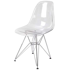 стул Eames DSR, прозрачный