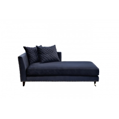 Кушетка sorrento правая велюровая темно-синяя sorrento-couch-2k-т.синий-bel18