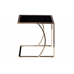 Стол журнальный на металлическом каркасе 13rx5076m-gold